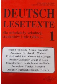 Deutsch lesetexte
