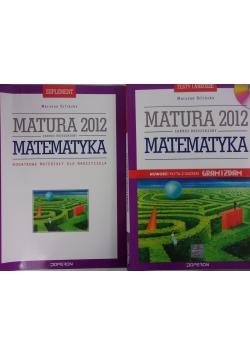 Matura 2012. Zakres rozszerzony, matematyka, zestaw 2 książek