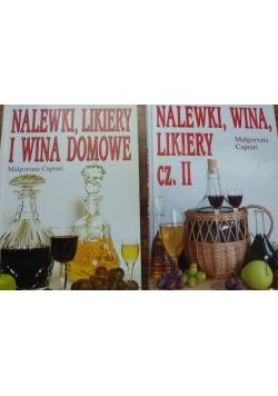 Nalewki, likiery i wina domowe, 2 tomy
