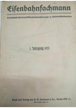 Eisenbahnfachmann, 1925 r.