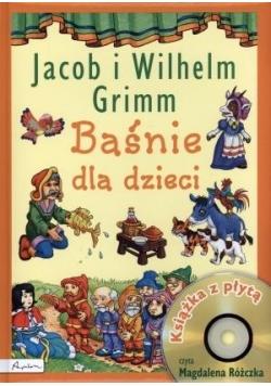 Baśnie dla dzieci - Jacob i Wilhelm Grimm + CD