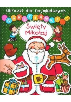 Obrazki dla najmłodszych - Święty Mikołaj