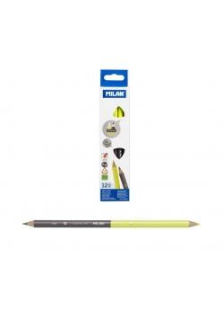 Ołówek trójkątny Bicolor HB (12szt) MILAN