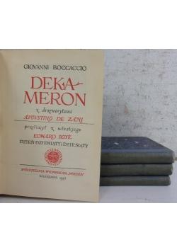 Dekameron, 4 książki, 1948 r.