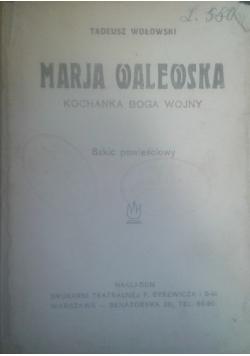 Maria Walewska kochanka Boga wojny, 1929 r.