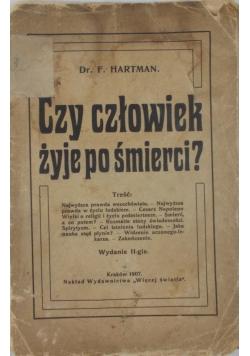 Czy człowiek żyje po śmierci, wydanie II, 1907 r.