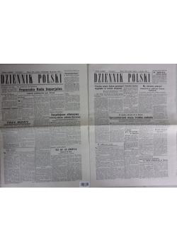 Dziennik Polski nr 757,754; 1942r.