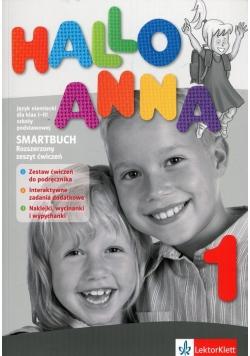 Hallo Anna 1 Smartbuch Rozszerzony zeszyt ćwiczeń z płytą CD