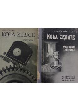 Koła zębate , zestaw 2 książek