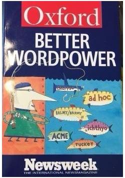 Better wordpower