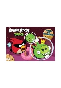 Angry Birds Space Plakaty do kolorowania z naklejkami