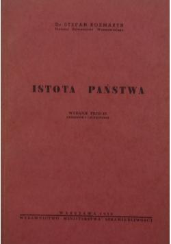Istota państwa, 1950 r.