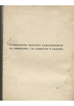 Iluminowane rękopisy księgozbiorów