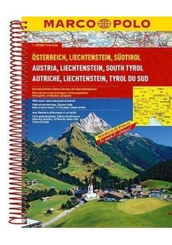 Atlas Austria 1:200 000 spirala MARCO POLO