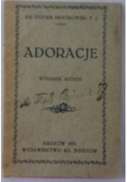 Adoracje,Wydanie VI,1931r.