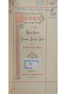 Jesus, 1892r.