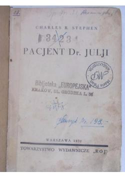 Pacjent Dr. Julji, 1935 r.