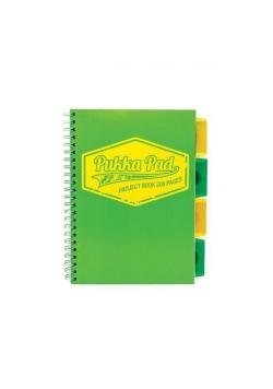 Project Book Neon B5/100 kr zielony (3szt) PUKKA