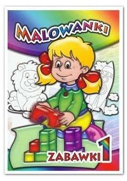 Malowanki Zabawki 1 LIWONA