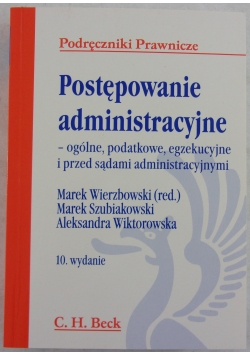 Postępowanie administarcyjne