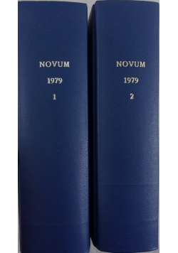 Novum, nr:1,2