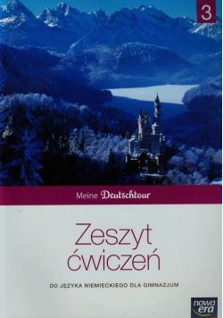 Meine Deutschtour 3 Zeszyt ćwiczeń