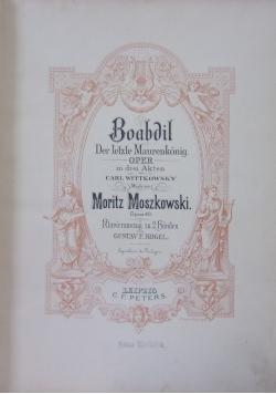 Boabdil, der letzte Maurenkönig,1892r.