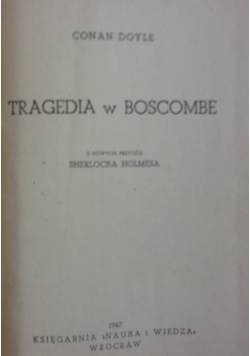 Tragedia w Boscombe  1947r .