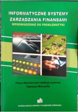 Informatyczne systemy zarządzania finansami