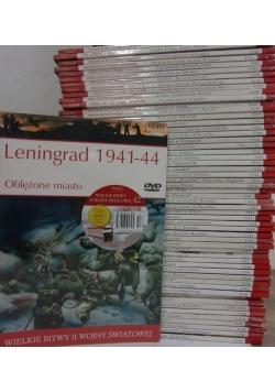Wielkie bitwy II Wojny Światowej, 45 albumów + DVD