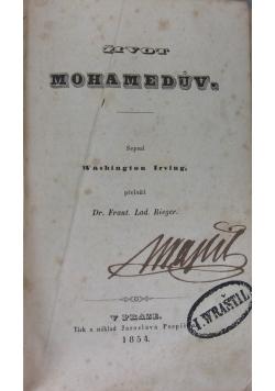 Żivot Mohameduv, 1854 r.