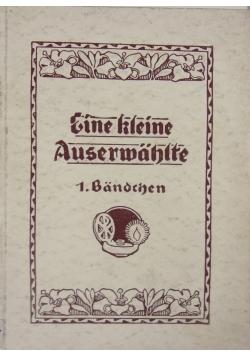 Eine kleine Auserwahlte ,1926r.