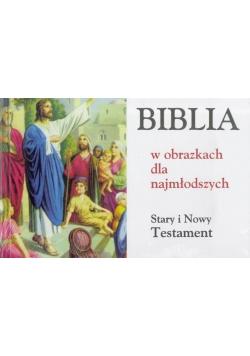Biblia w obrazkach dla najmłodszych ST i NT(album)