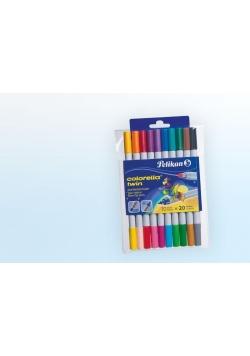Pisaki Colorella Twin C304 10szt - 20 kolorów