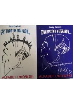 Towarzystwo weteranów.../Cały Lwów na mój głów..., 2 książki