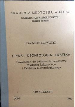 Etyka i deontologia lekarska
