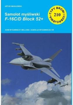 Samolot myśliwski. F-16C/D Block 52+
