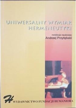 Uniwersalny wymiar hermeneutyki