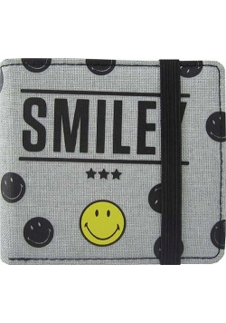 Portfel Smiley Grey