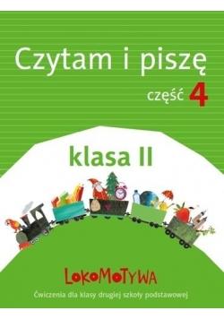 Lokomotywa 2 Czytam i piszę cz.4 w.2018 GWO