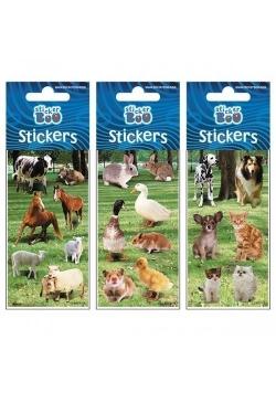 Naklejki Sticker BOO silver zwierzęta mix