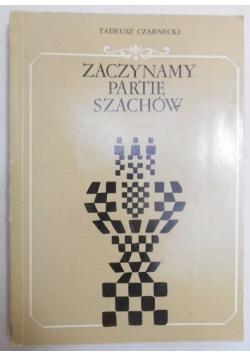 Zaczynamy partię szachów