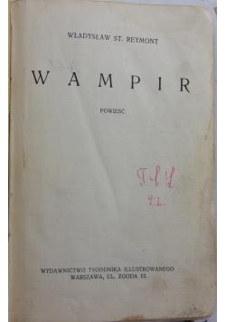Wampir, 1931 r.