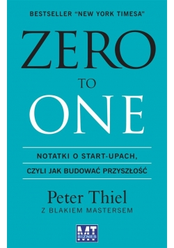 Zero to one. Notatki o start-upach Audiobook