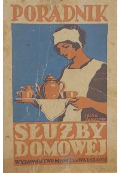 Poradnik służby domowej, 1930 r.