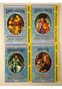 Biblioteka Lektur Szkolnych: Konrad Wallenrod / Świętoszek / Skąpiec / Moralność Pani Dulskiej / Monachomachia / Bajki / Satyry