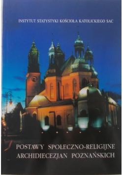 Postawy społeczno-religijne Archidiecezjan Poznańskich