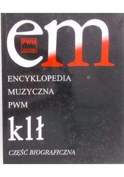 Encyklopedia Muzyczna PWM, Tom V, klł