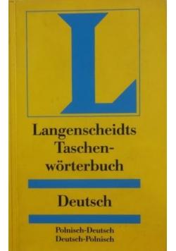Langenscheidts Taschen- Worterbuch Deutsch, Polnisch- Deutsch, Deutsch- Polnisch