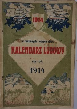 Kalendarz ludowy na rok 1914